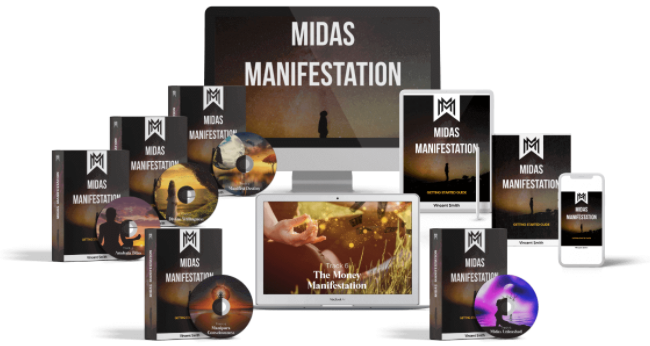 Midas Manifestation Book