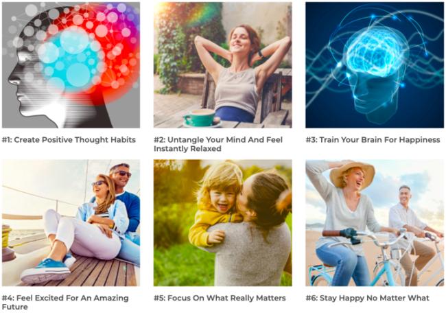 Dream Life Tracks Stop Negative Thinking Audio Program