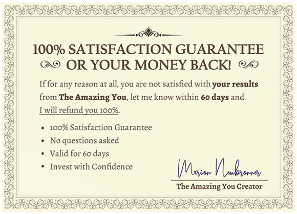 The Amazing you reviews